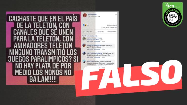 Canales chilenos no transmiten juegos paralimpicos