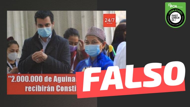 2 millones de aguinaldo constituyentes falso