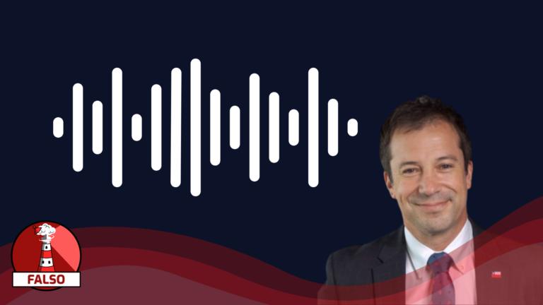 """Read more about the article (Audio) Lucas Palacios: """"segunda vez que les digo que con 320 mil pesos alcanza para lo básico de una casa"""": #Falso"""