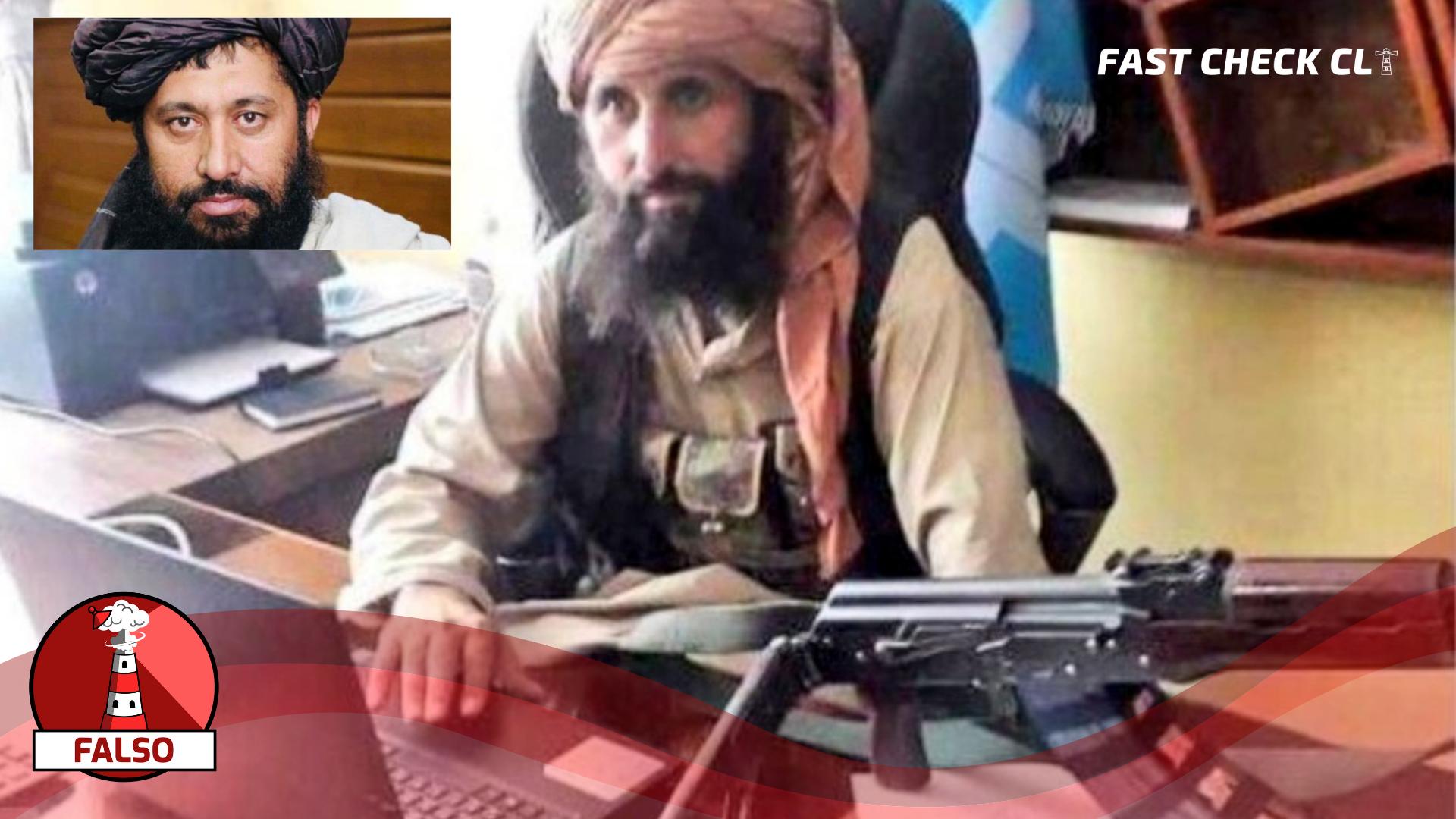 """Read more about the article (Imagen) """"Foto del nuevo director del Banco Central de Afganistán"""": #Falso"""