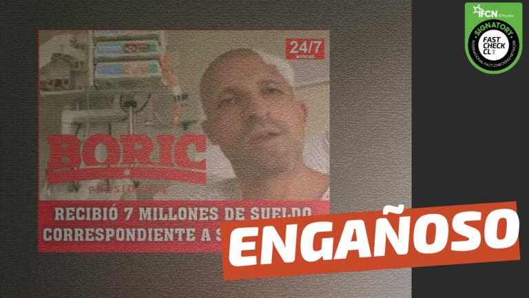 Read more about the article Rodrigo Rojas Vade recibió 7 millones de sueldo correspondientes a septiembre: #Engañoso